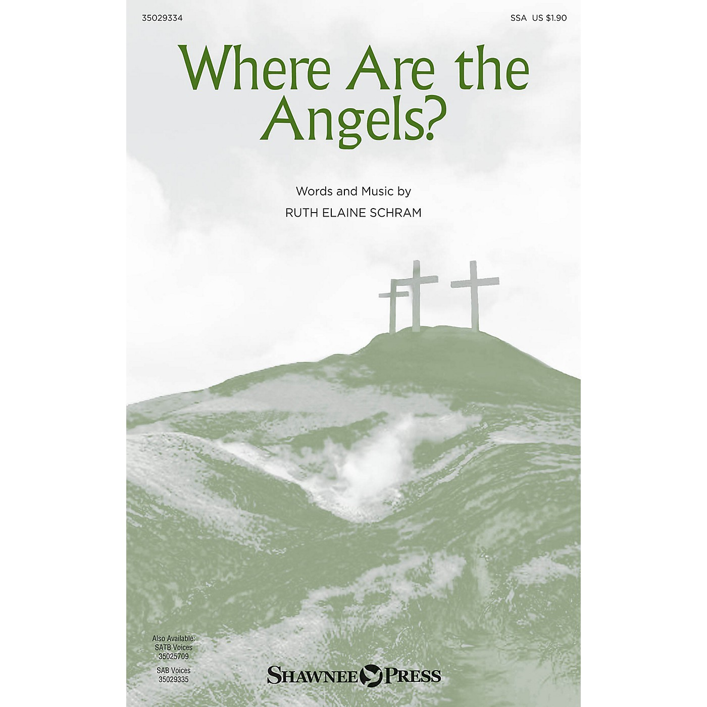 Shawnee Press Where Are the Angels? SSA composed by Ruth Elaine Schram thumbnail