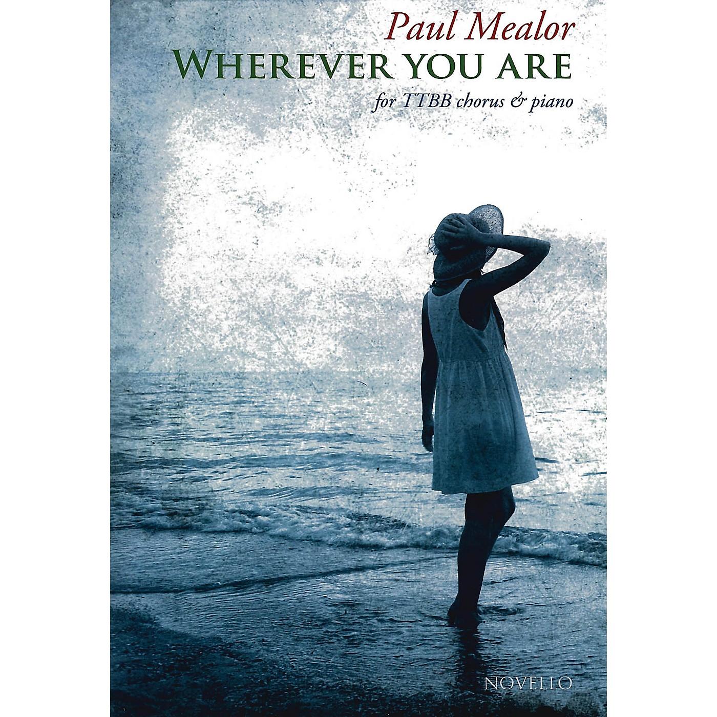 Novello Wherever You Are TTBB Composed by Paul Mealor thumbnail