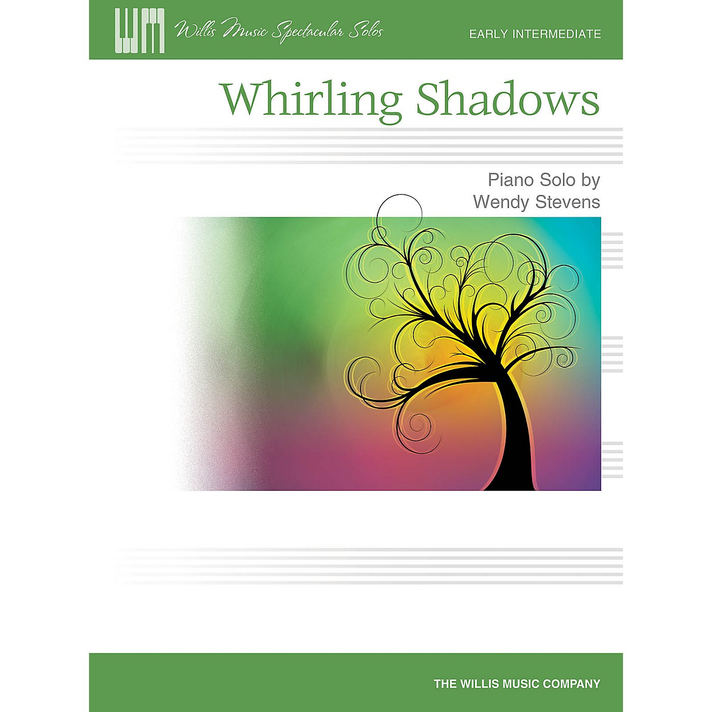 Willis Music Whirling Shadows (Early Inter Level) Willis Series by Wendy Stevens thumbnail
