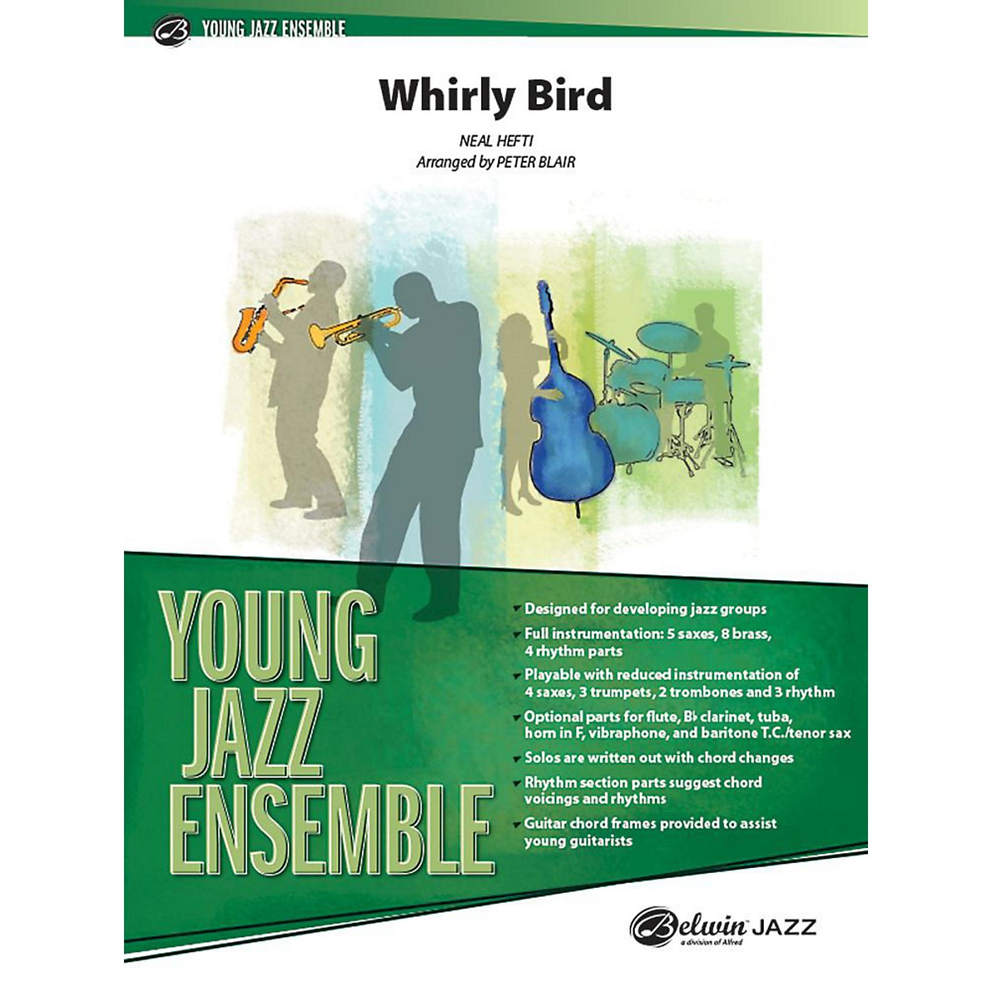 Alfred Whirly Bird Jazz Band Grade 2 Set thumbnail