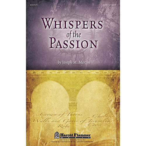 Shawnee Press Whispers of the Passion REHEARSAL CD Composed by Joseph M. Martin thumbnail
