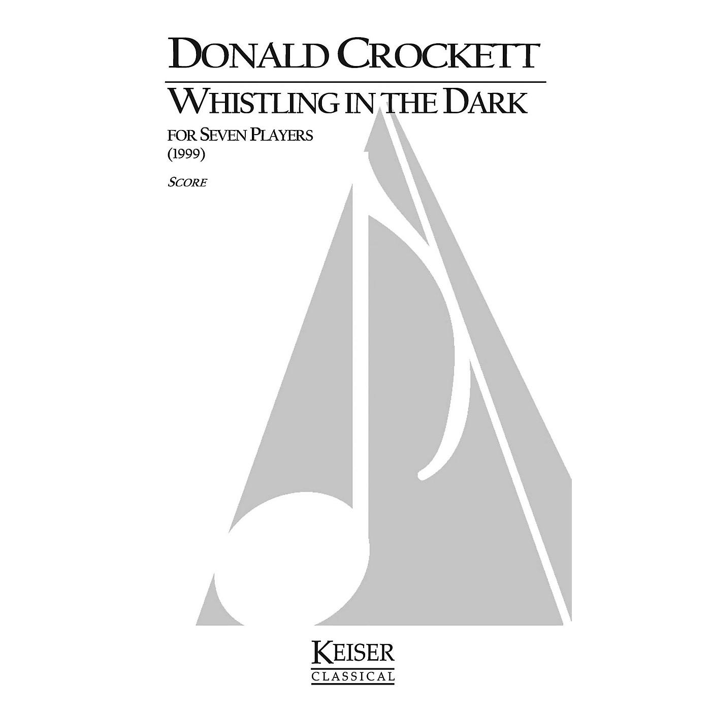 Lauren Keiser Music Publishing Whistling in the Dark (for Chamber Ensemble) LKM Music Series by Donald Crockett thumbnail