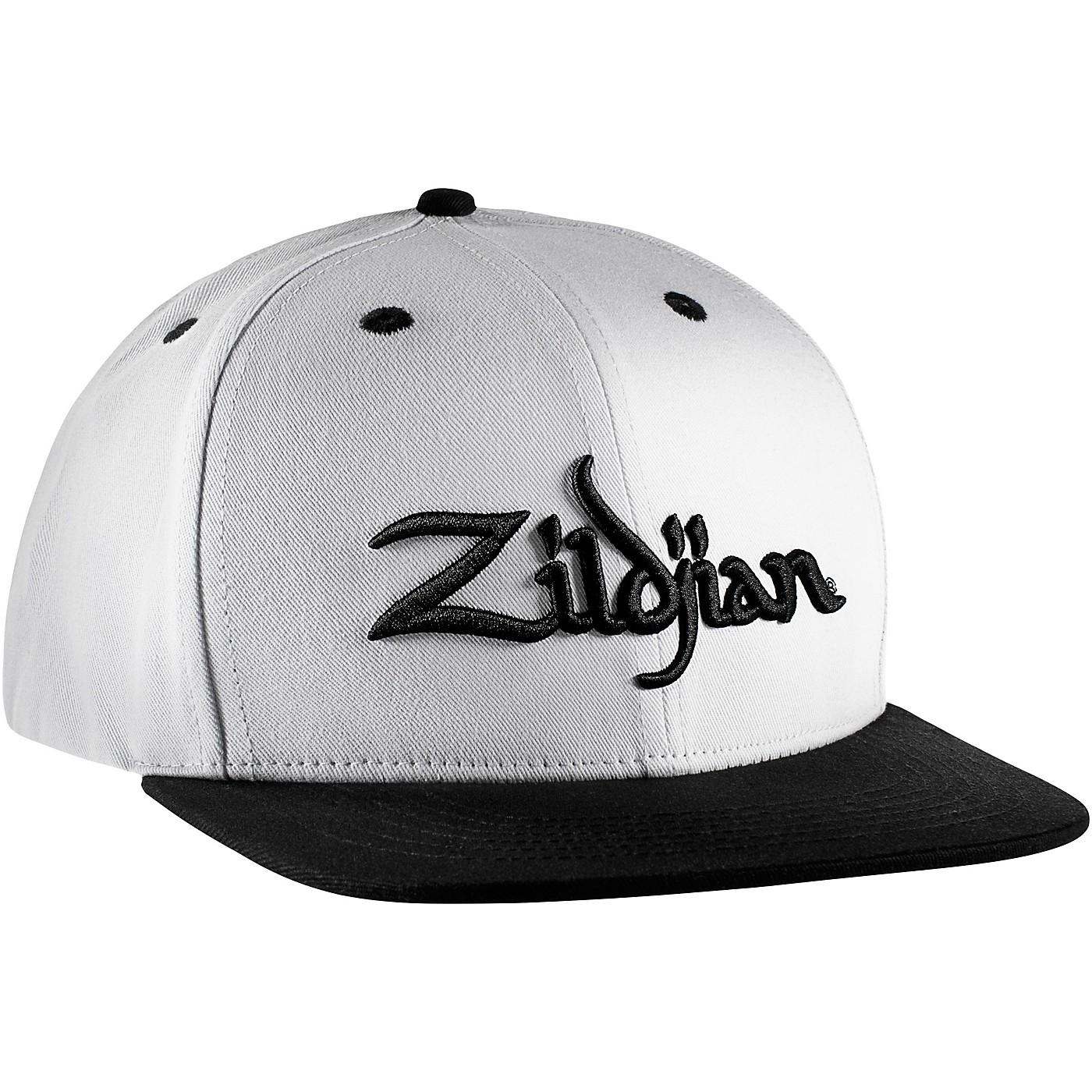 Zildjian White 6 Panel Snapback Hat thumbnail
