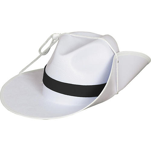Director's Showcase White Aussie Hat with Colored Band thumbnail