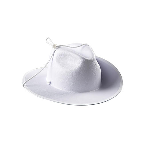 Director's Showcase White Aussie Hat without Band thumbnail