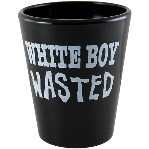 C&D Visionary White Boy Wasted Shot Glass thumbnail