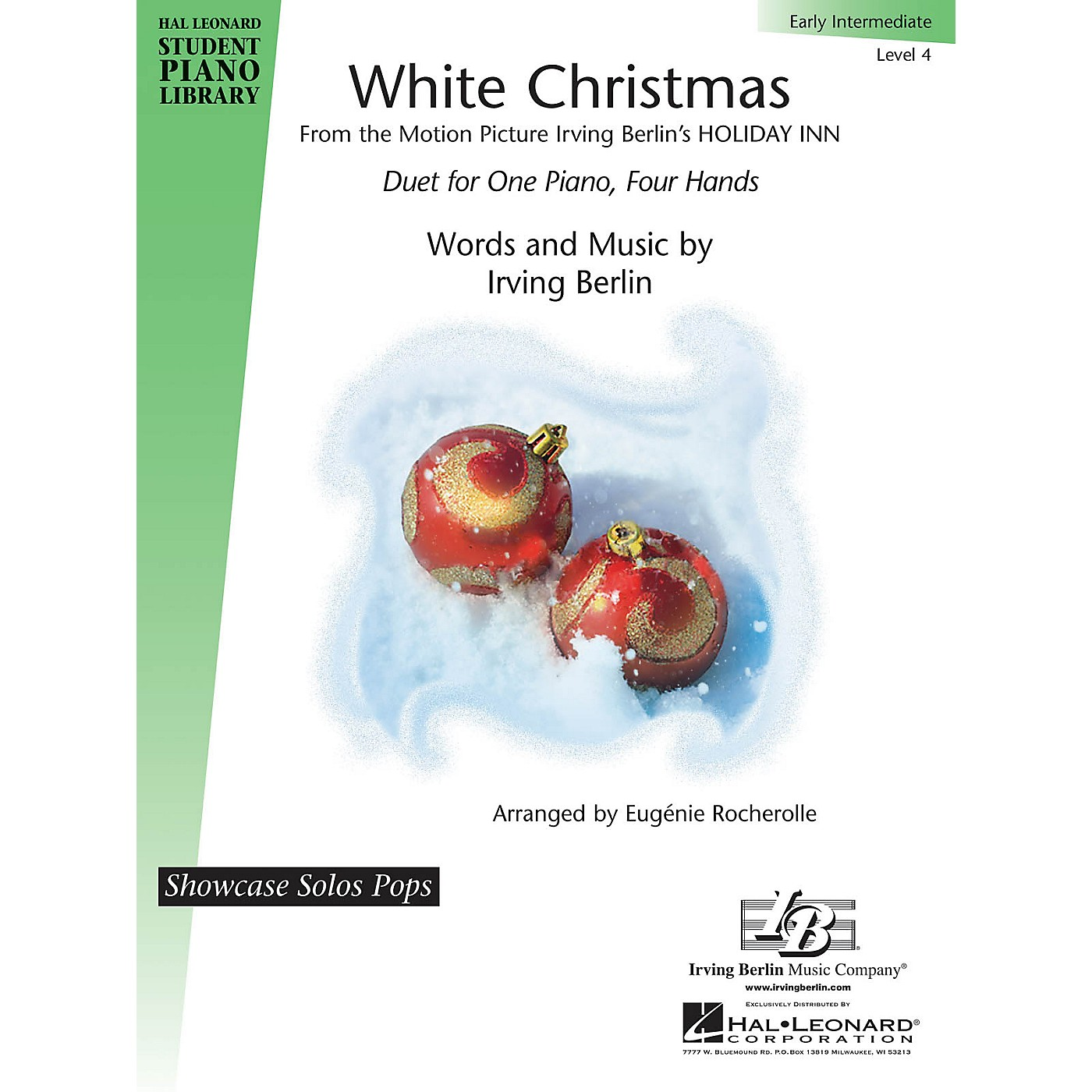 Hal Leonard White Christmas Piano Library Series Book by Irving Berlin (Level 4) thumbnail