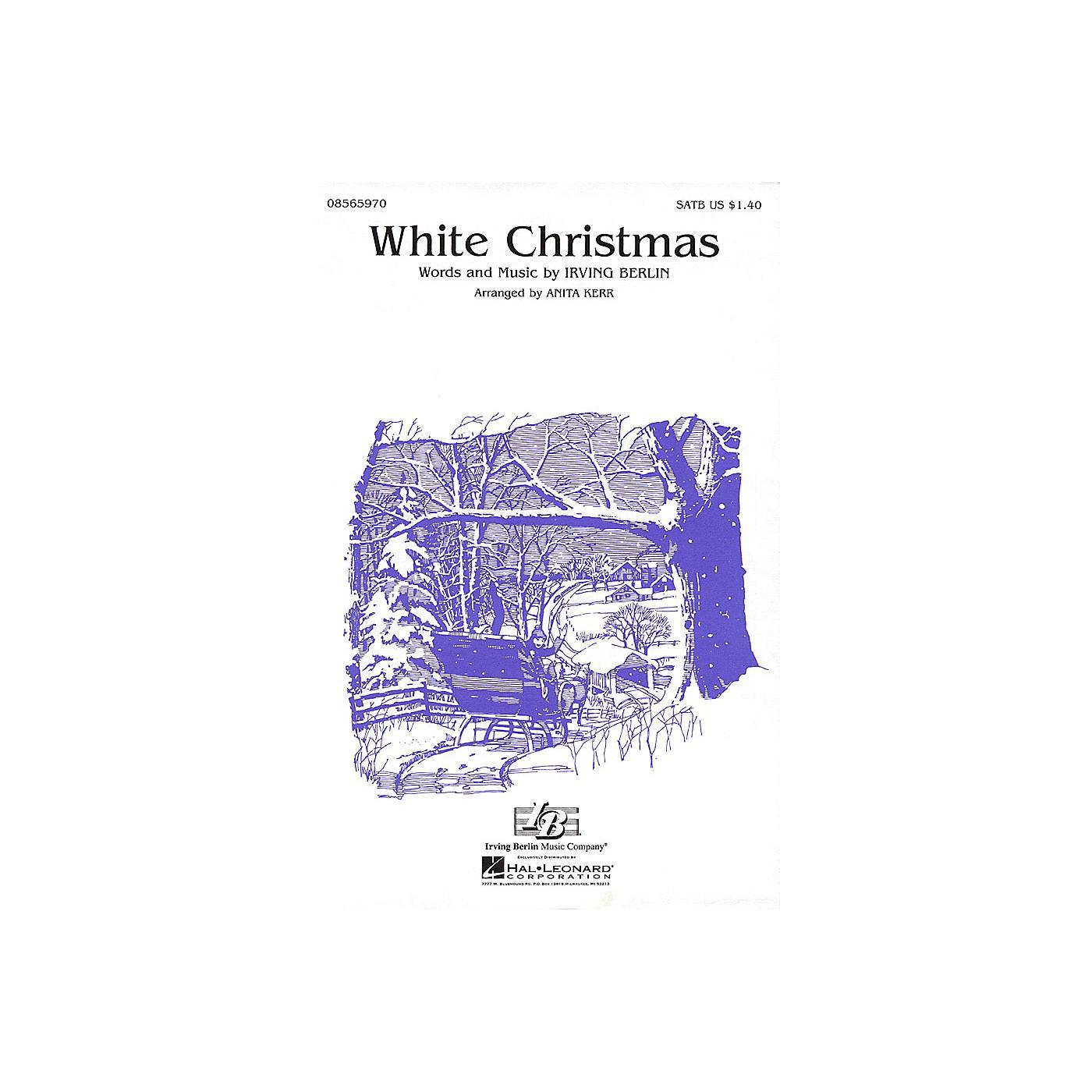 Hal Leonard White Christmas (SATB) SATB arranged by Anita Kerr thumbnail