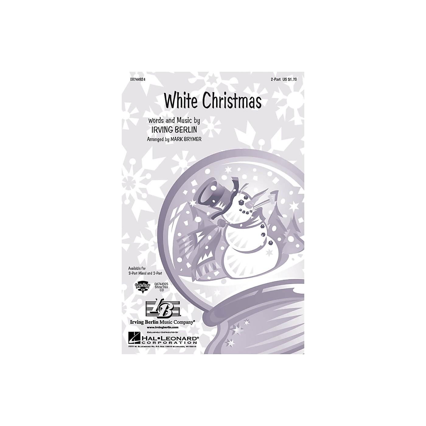 Hal Leonard White Christmas ShowTrax CD Arranged by Mark Brymer thumbnail