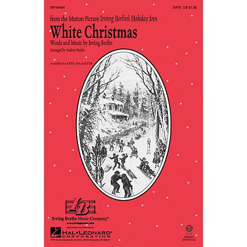 Hal Leonard White Christmas TTB Arranged by Audrey Snyder thumbnail
