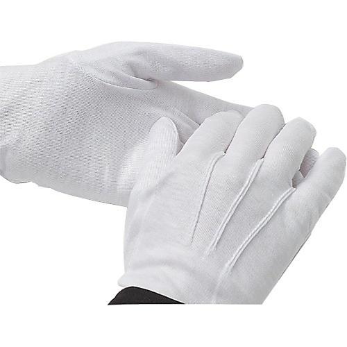 Director's Showcase White Cotton Gloves: Dozen thumbnail
