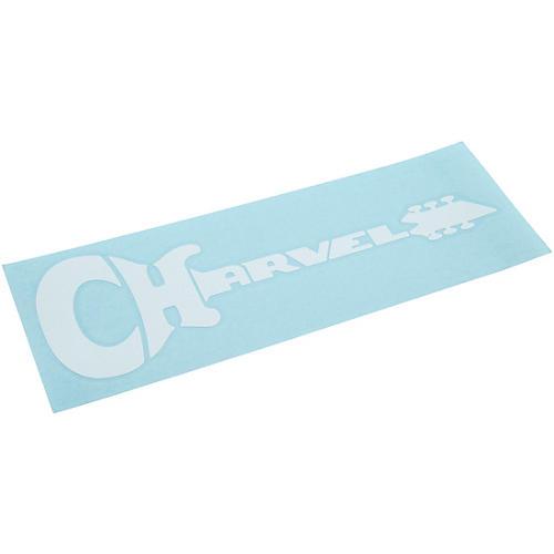 Charvel White Die Cut Sticker thumbnail