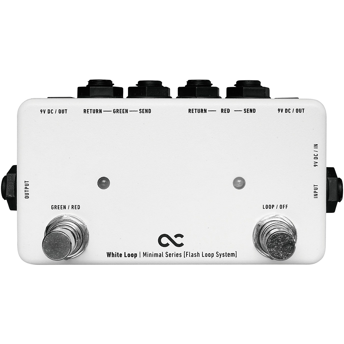 One Control White Loop Flash 2-Channel Switcher Pedal thumbnail