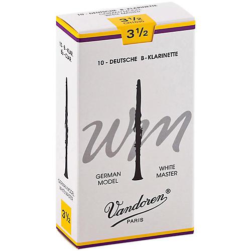 Vandoren White Master Bb Clarinet Reeds thumbnail
