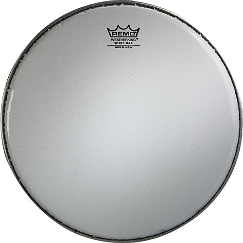Remo White Max Crimped Smooth White Marching Snare Drum Head thumbnail