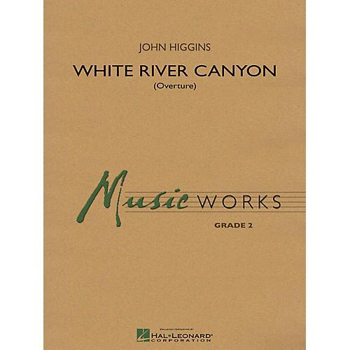 Hal Leonard White River Canyon (Overture) Concert Band Level 2 Composed by John Higgins thumbnail
