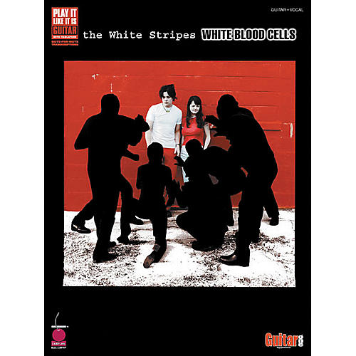Cherry Lane White Stripes White Blood Cells Guitar Tab Songbook thumbnail