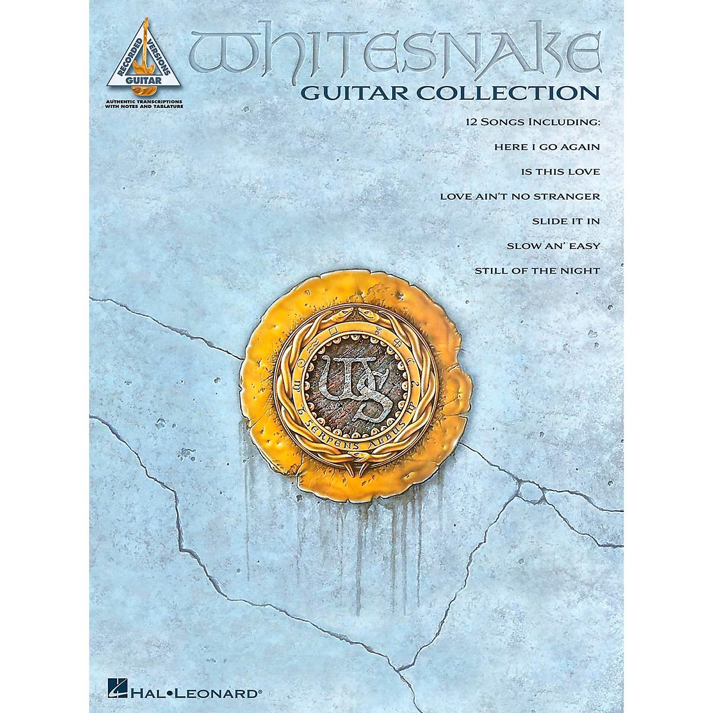 Hal Leonard Whitesnake Guitar Collection Guitar Tab Songbook thumbnail