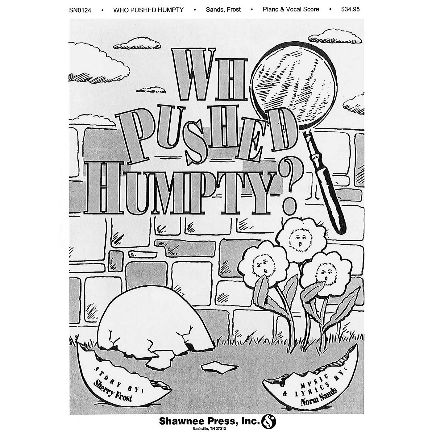 Shawnee Press Who Pushed Humpty? CLASSRM KIT composed by Sherry Frost thumbnail