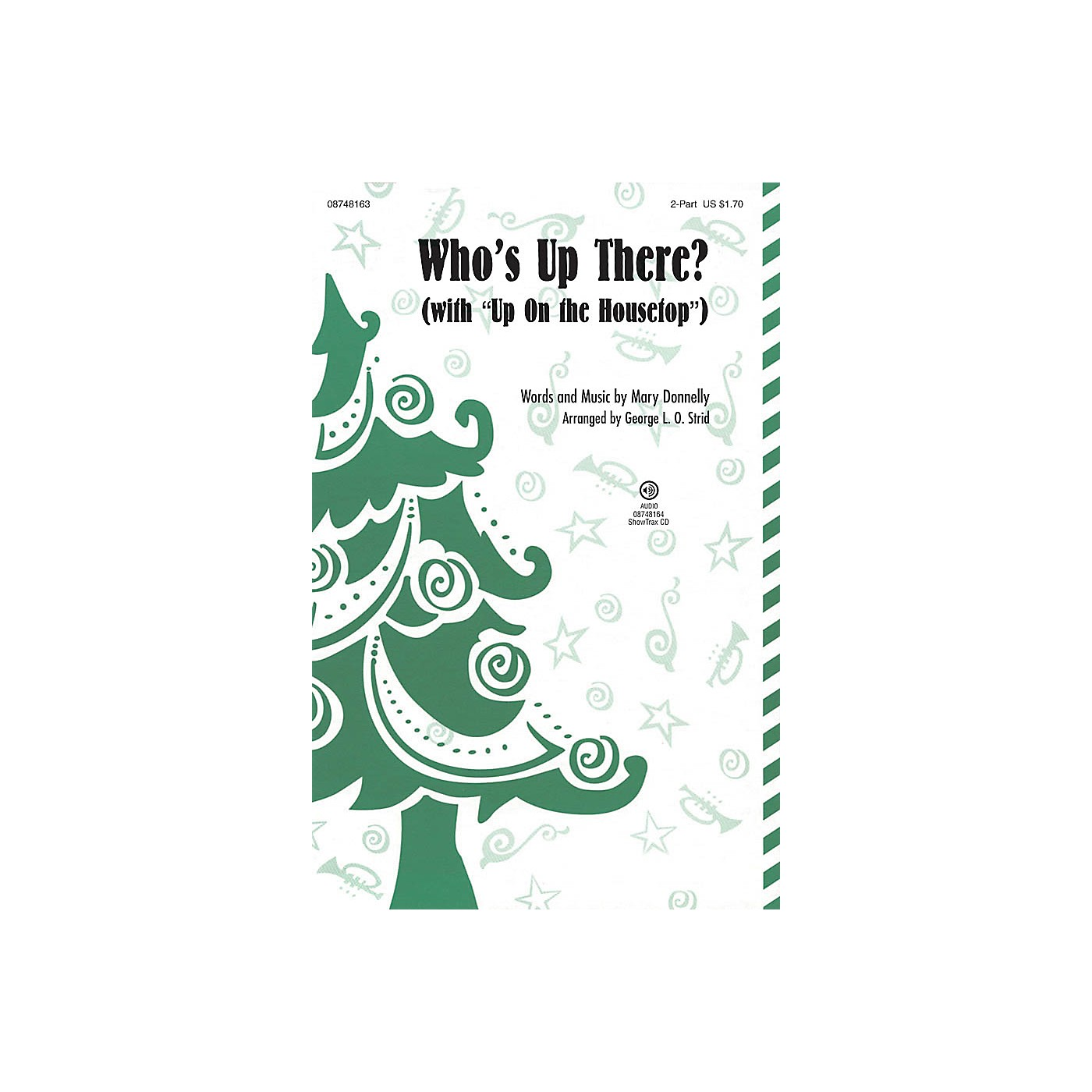 Hal Leonard Who's Up There? (with Up on the Housetop) 2-Part arranged by George L. O. Strid thumbnail