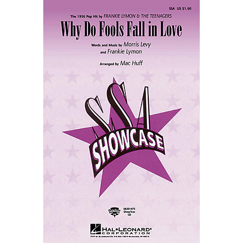 Hal Leonard Why Do Fools Fall in Love SSA by Diana Ross arranged by Mac Huff thumbnail