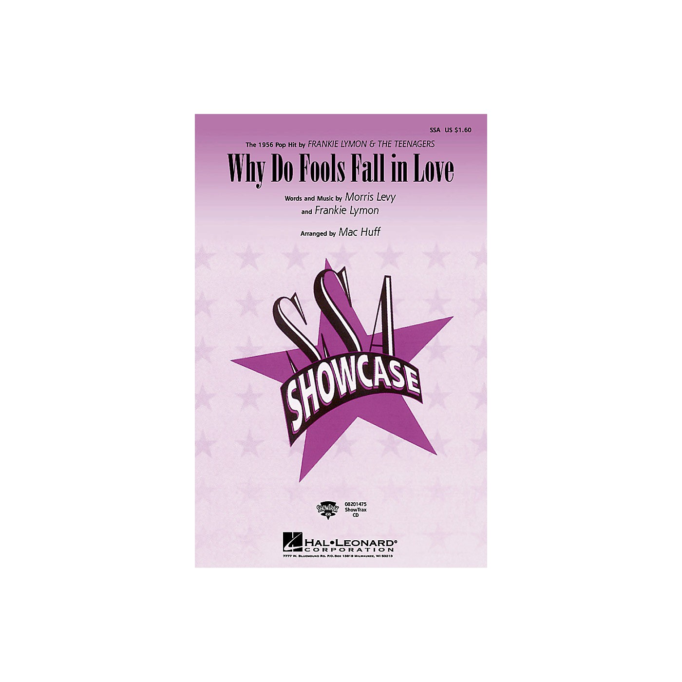 Hal Leonard Why Do Fools Fall in Love ShowTrax CD by Diana Ross Arranged by Mac Huff thumbnail