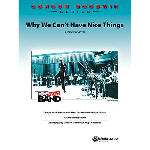 Alfred Why We Can't Have Nice Things Jazz Band Grade 6 Set thumbnail