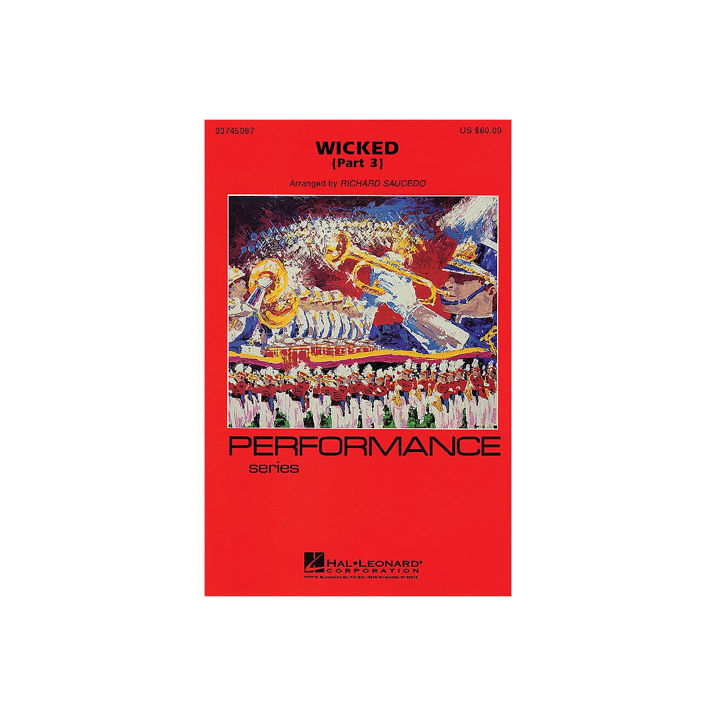 Hal Leonard Wicked - Part 3 Marching Band Level 4 Arranged by Richard L. Saucedo thumbnail