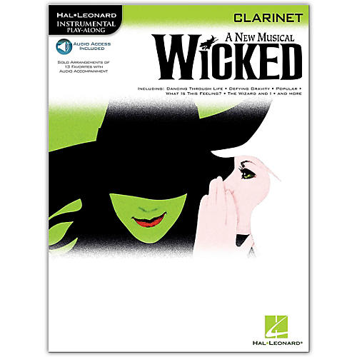 Hal Leonard Wicked for Clarinet Book/Online Audio thumbnail