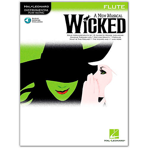 Hal Leonard Wicked for Flute (Book/Online Audio) thumbnail