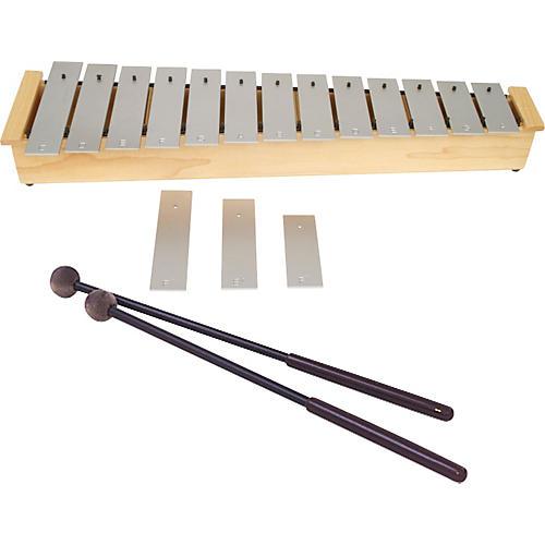 Lyons Wide Bar Diatonic Alto Glockenspiel with Mallets-thumbnail
