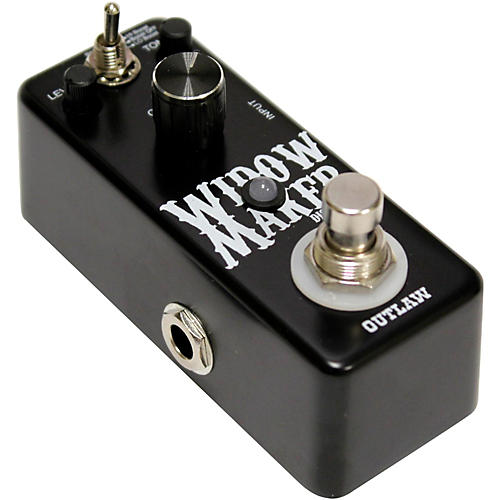 Outlaw Effects Widow Maker Metal Guitar Distortion Pedal thumbnail