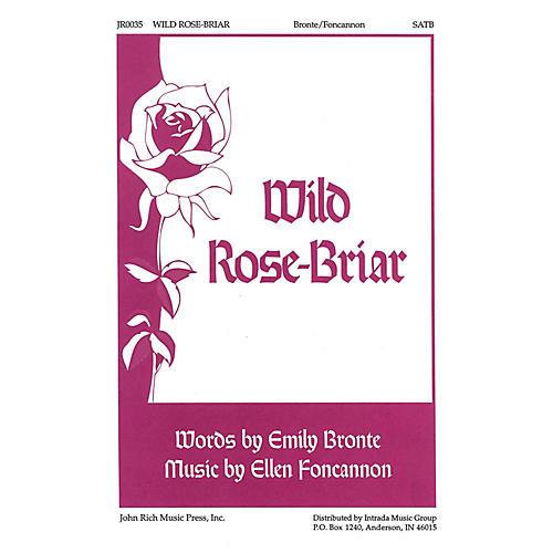 Pavane Wild Rose-Briar SATB composed by Ellen Foncannon, Emily Bronte thumbnail