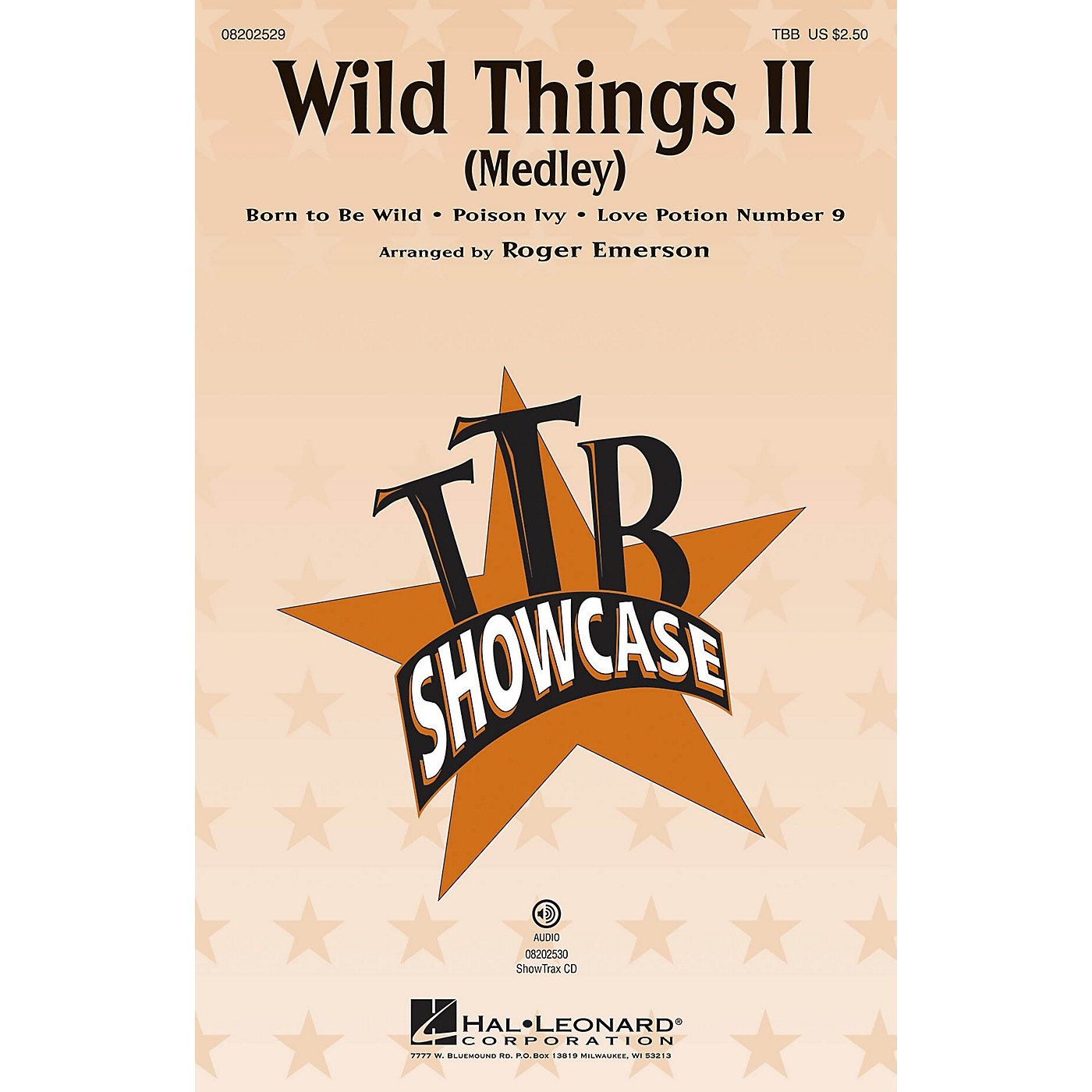 Hal Leonard Wild Things II (Medley) TBB arranged by Roger Emerson thumbnail