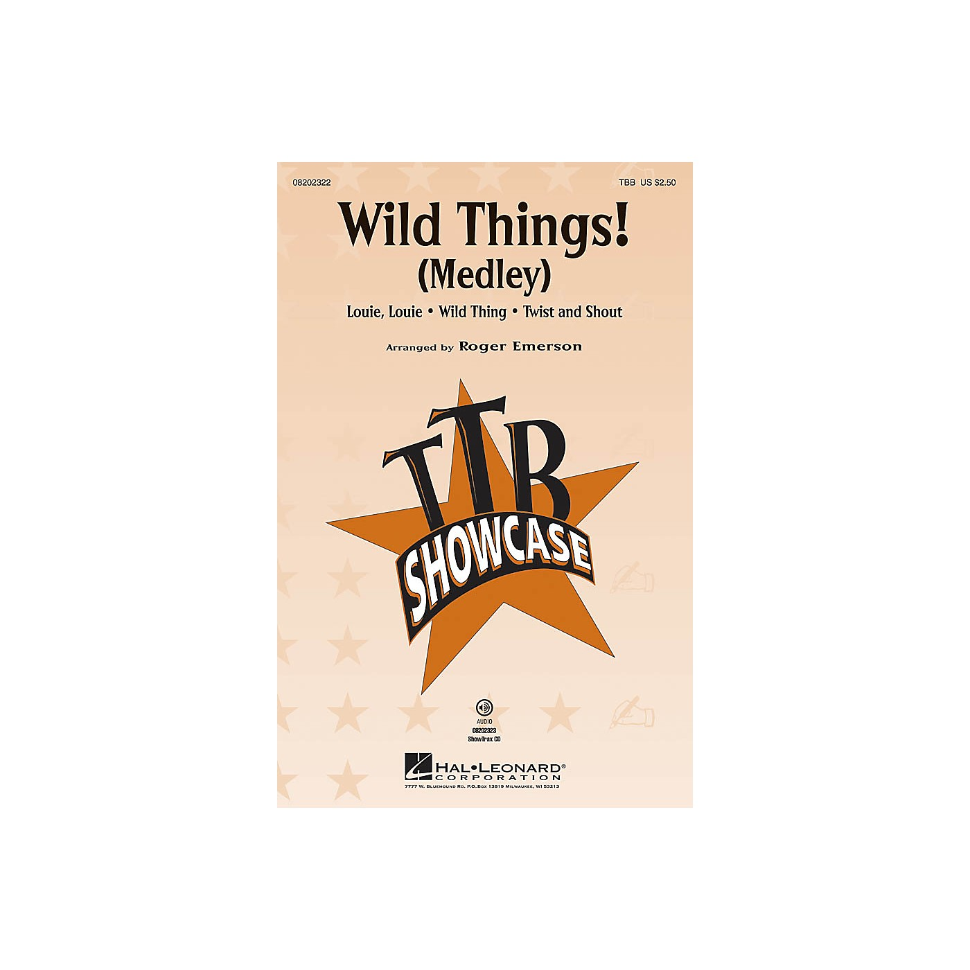 Hal Leonard Wild Things! (Medley) ShowTrax CD Arranged by Roger Emerson thumbnail