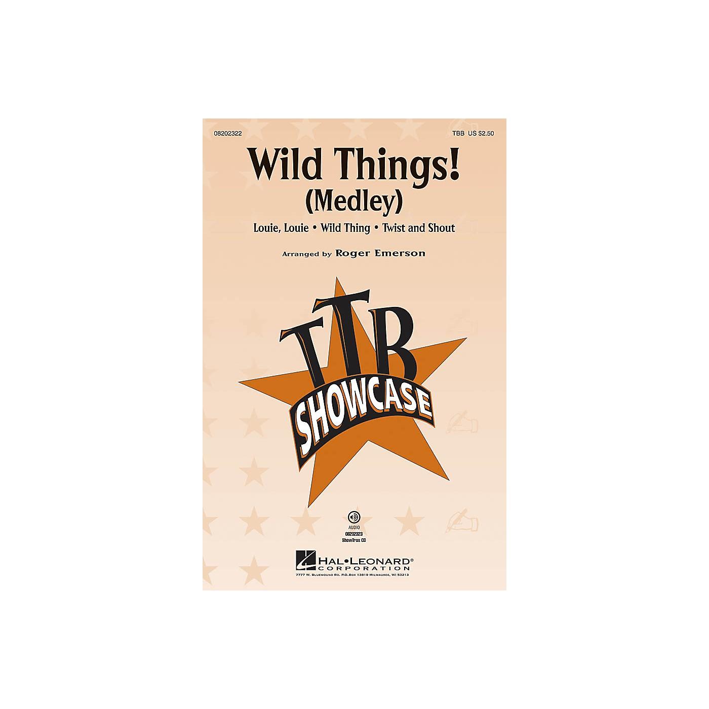 Hal Leonard Wild Things! (Medley) TBB arranged by Roger Emerson thumbnail