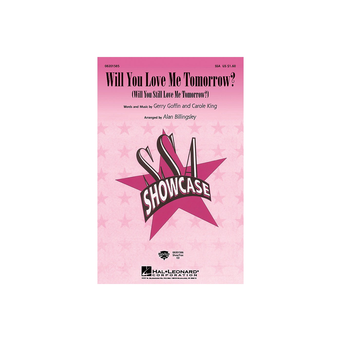 Hal Leonard Will You Love Me Tomorrow? ShowTrax CD Arranged by Alan Billingsley thumbnail