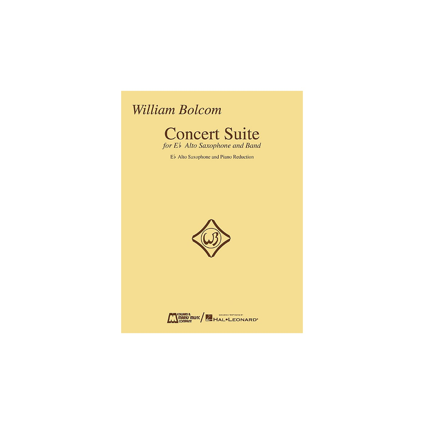 Edward B. Marks Music Company William Bolcom - Concert Suite Woodwind Solo Series  by William Bolcom thumbnail