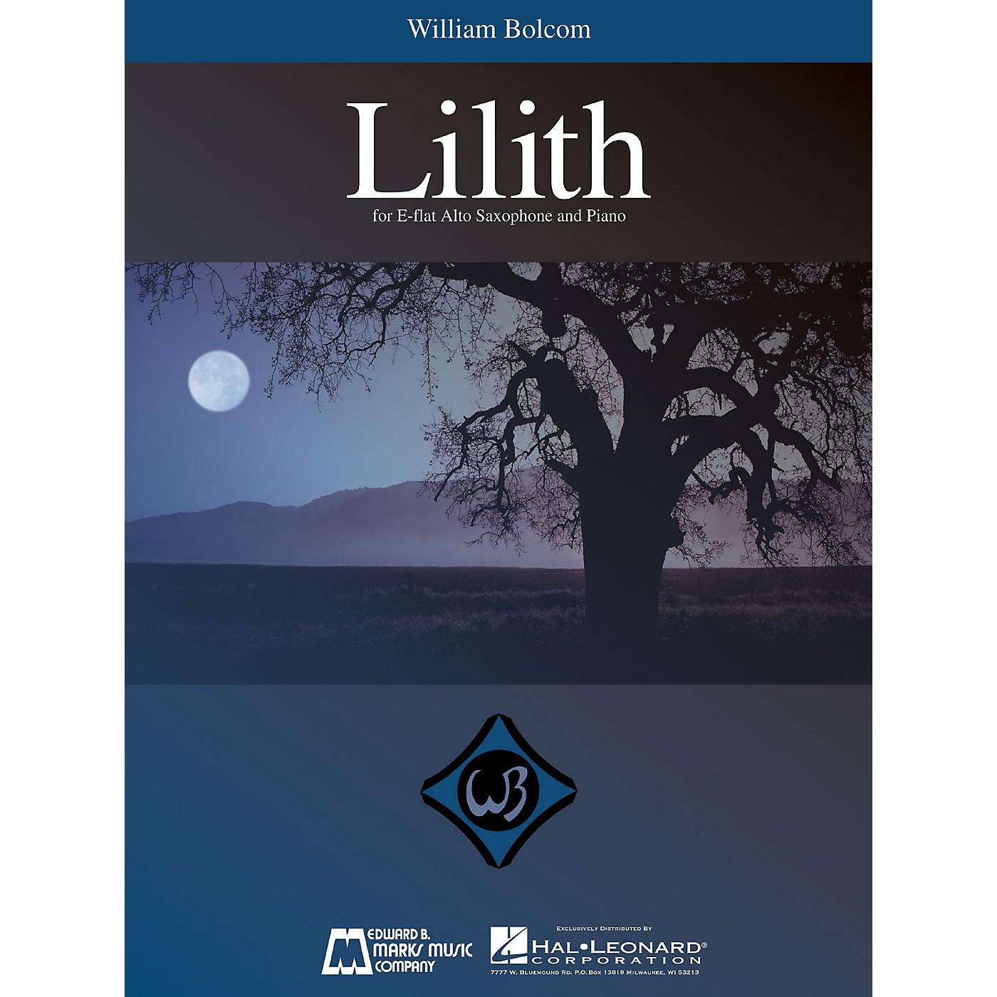 Edward B. Marks Music Company William Bolcom - Lilith (for E-Flat Alto Saxophone and Piano) E.B. Marks Series by William Bolcom thumbnail
