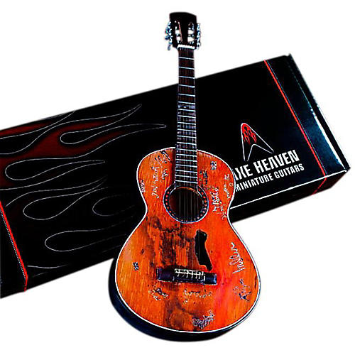 Axe Heaven Willie Nelson Signature Trigger Acoustic Miniature Guitar Replica Collectible thumbnail