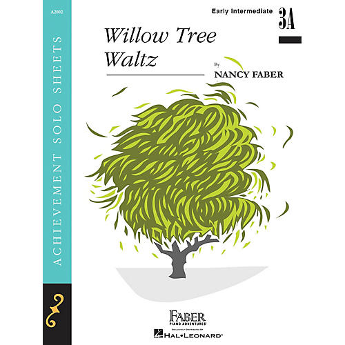 Faber Piano Adventures Willow Tree Waltz (Early Inter/Level 3B Piano Solo) Faber Piano Adventures Series by Nancy Faber thumbnail