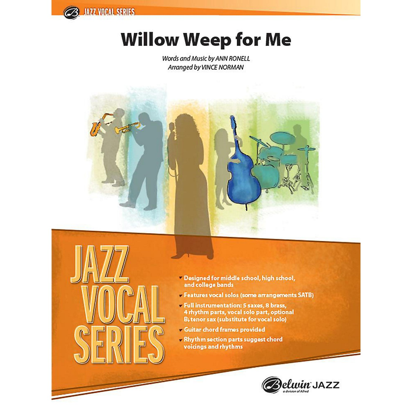 Alfred Willow Weep for Me Jazz Band Grade 3 Set thumbnail