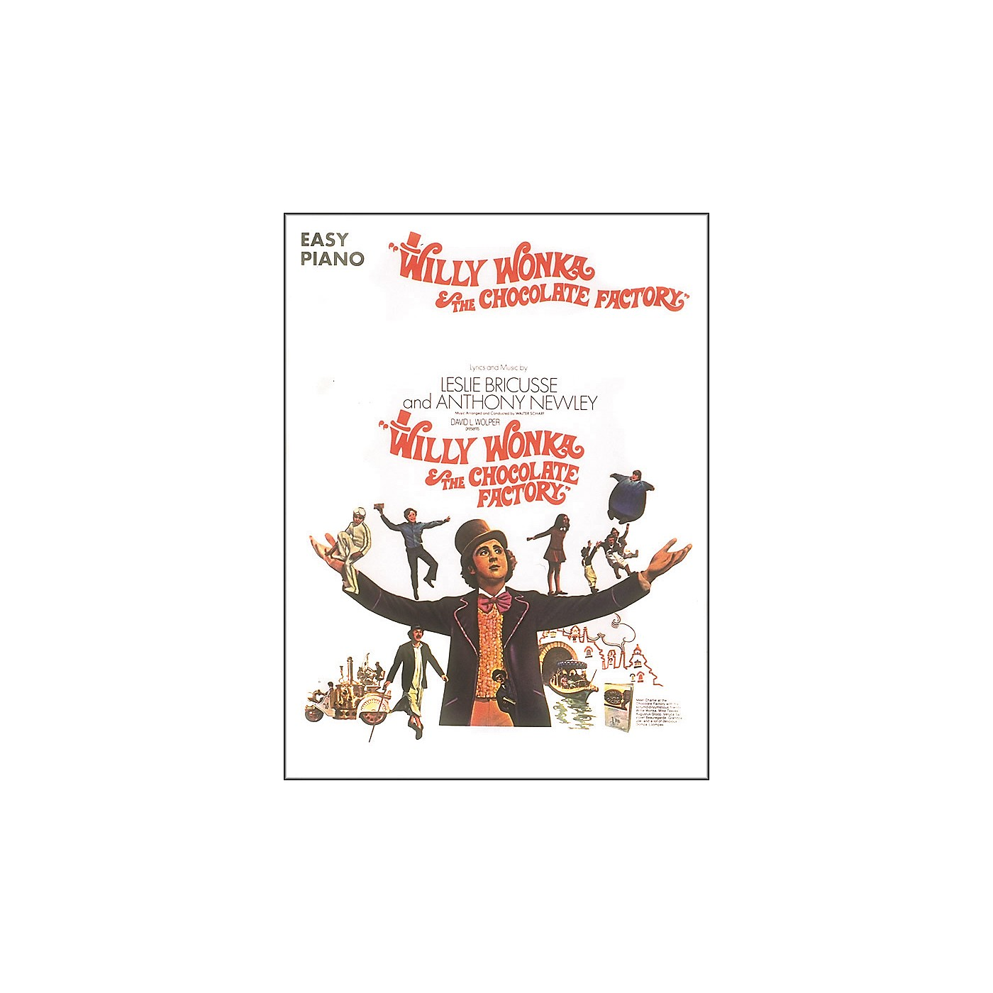 Hal Leonard Willy Wonka & The Chocolate Factory For Easy Piano thumbnail