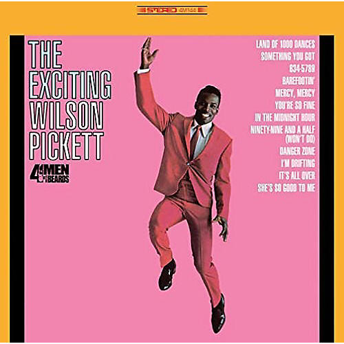 Alliance Wilson Pickett - Exciting Wilson Pickett thumbnail