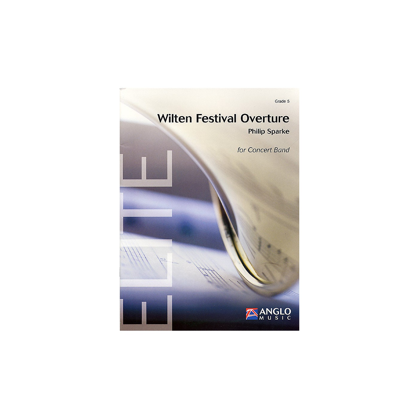 Anglo Music Press Wilten Festival Overture (Grade 5 - Score Only) Concert Band Level 5 Composed by Philip Sparke thumbnail