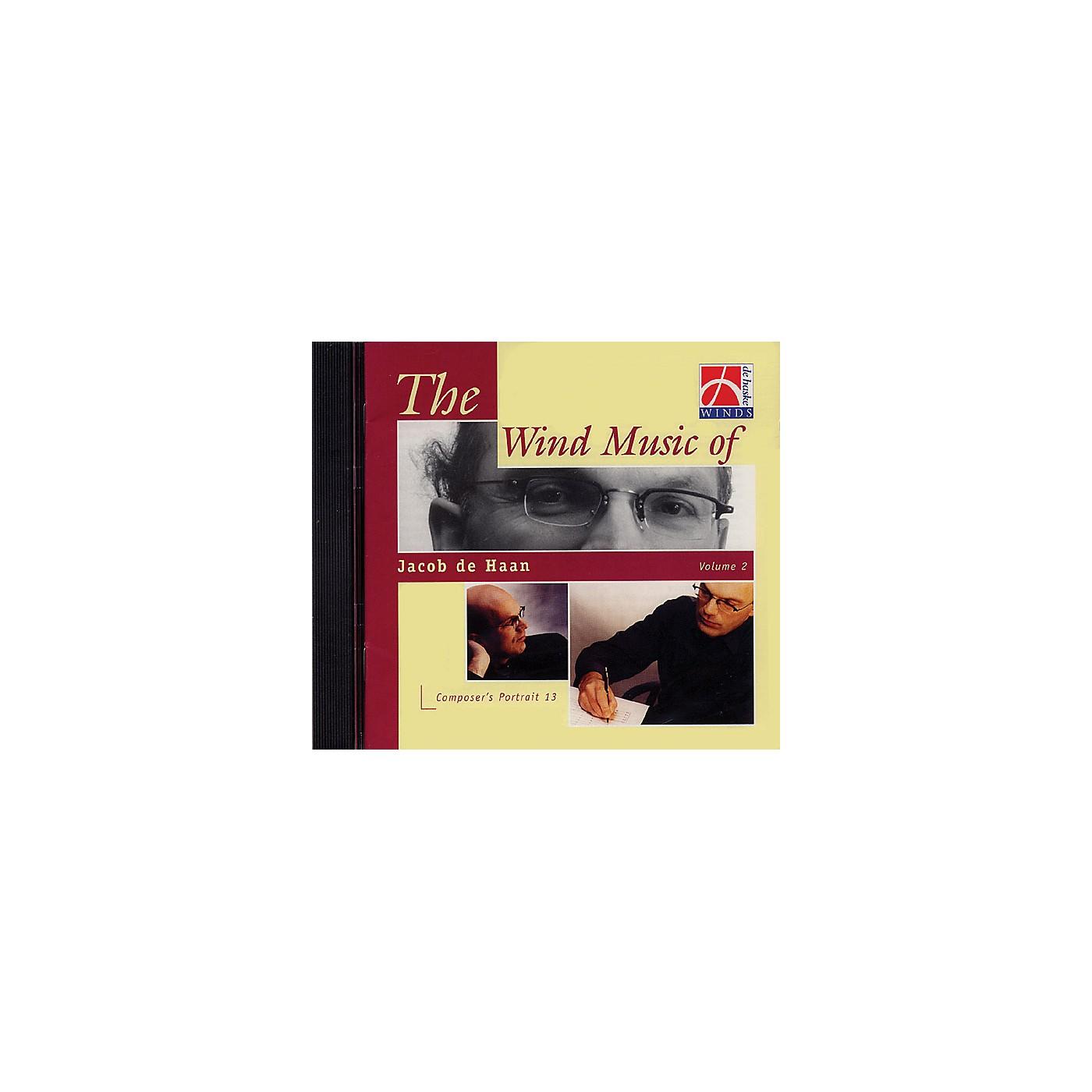 De Haske Music Wind Music of Jacob de Haan - Vol. 2 (De Haske Sampler CD) Concert Band Composed by Jacob de Haan thumbnail