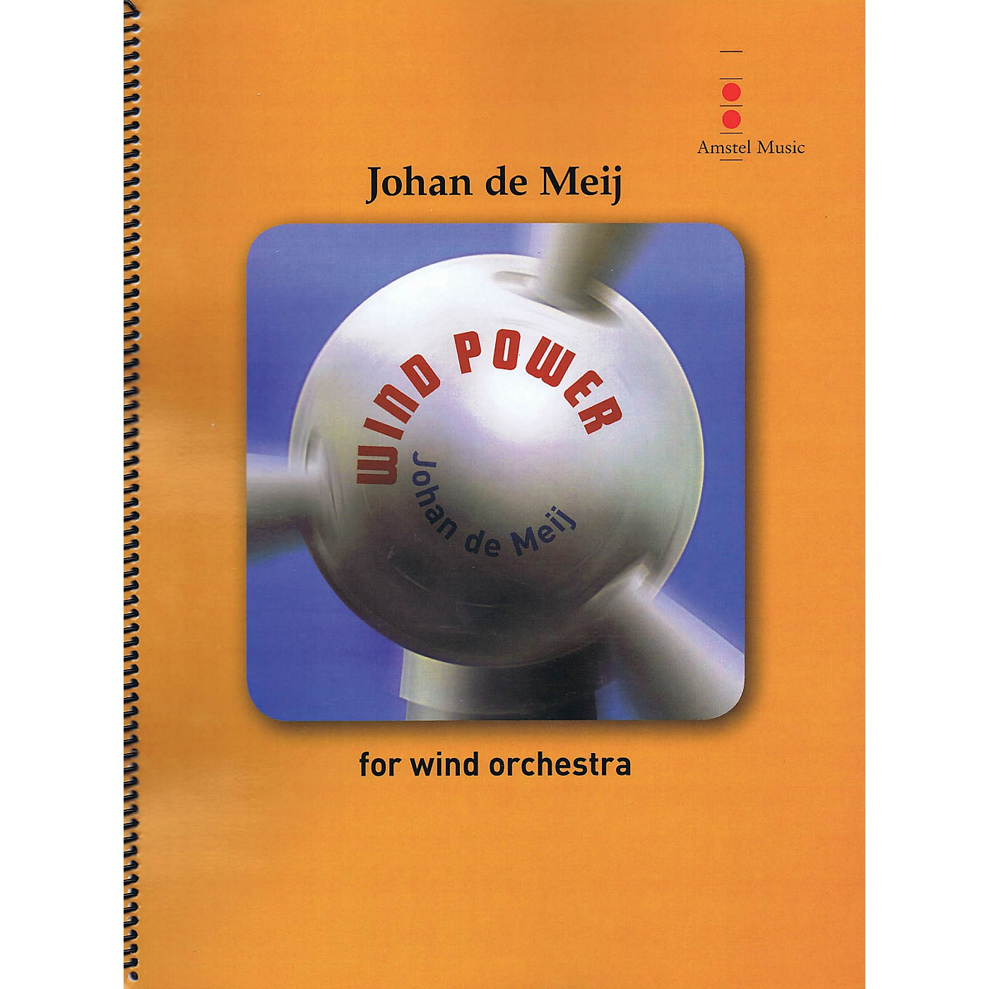 Amstel Music Wind Power (for Wind Orchestra) Concert Band Level 4 Composed by Johan de Meij thumbnail