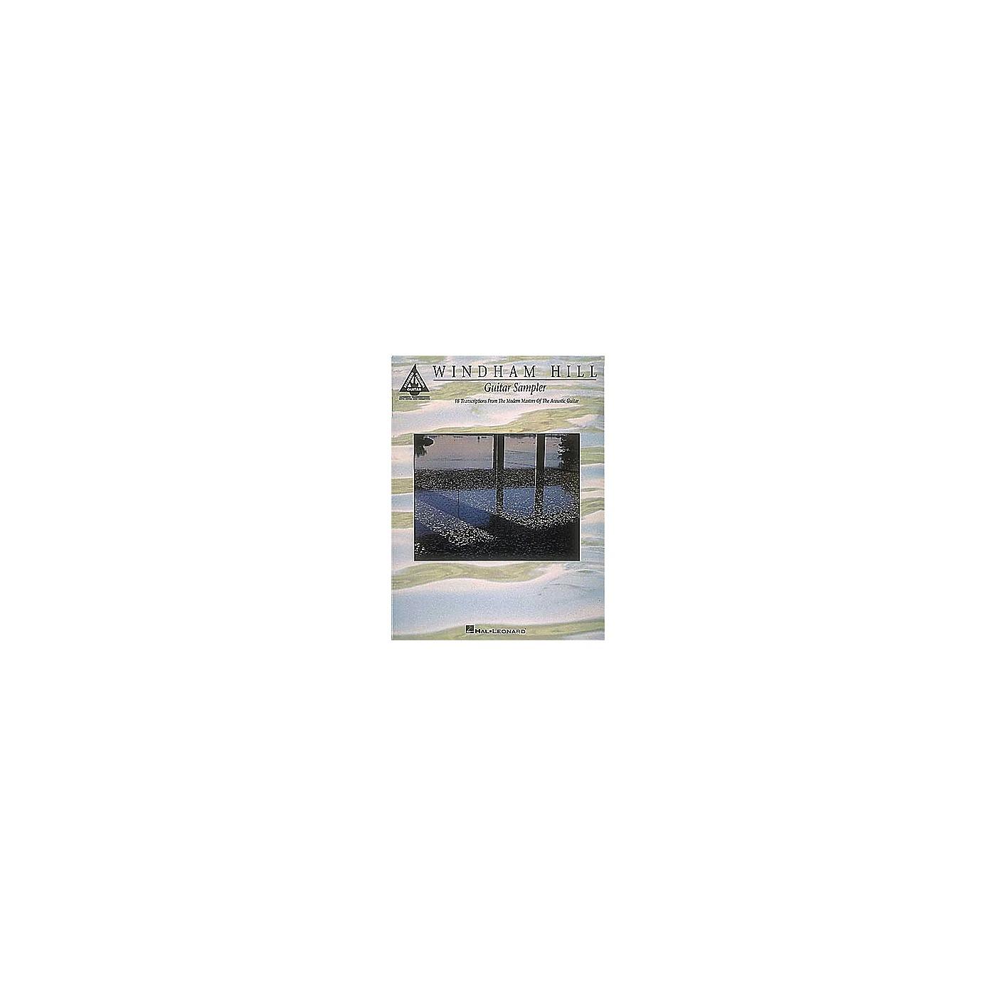 Hal Leonard Windham Hill Guitar Sampler Guitar Tab Songbook thumbnail