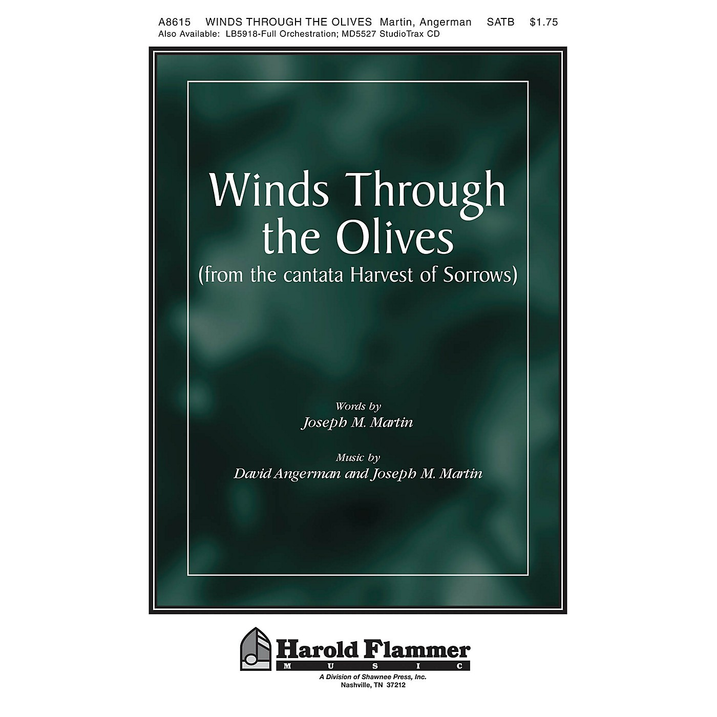 Shawnee Press Winds Through the Olives (from Harvest of Sorrows) SATB composed by Joseph M. Martin thumbnail