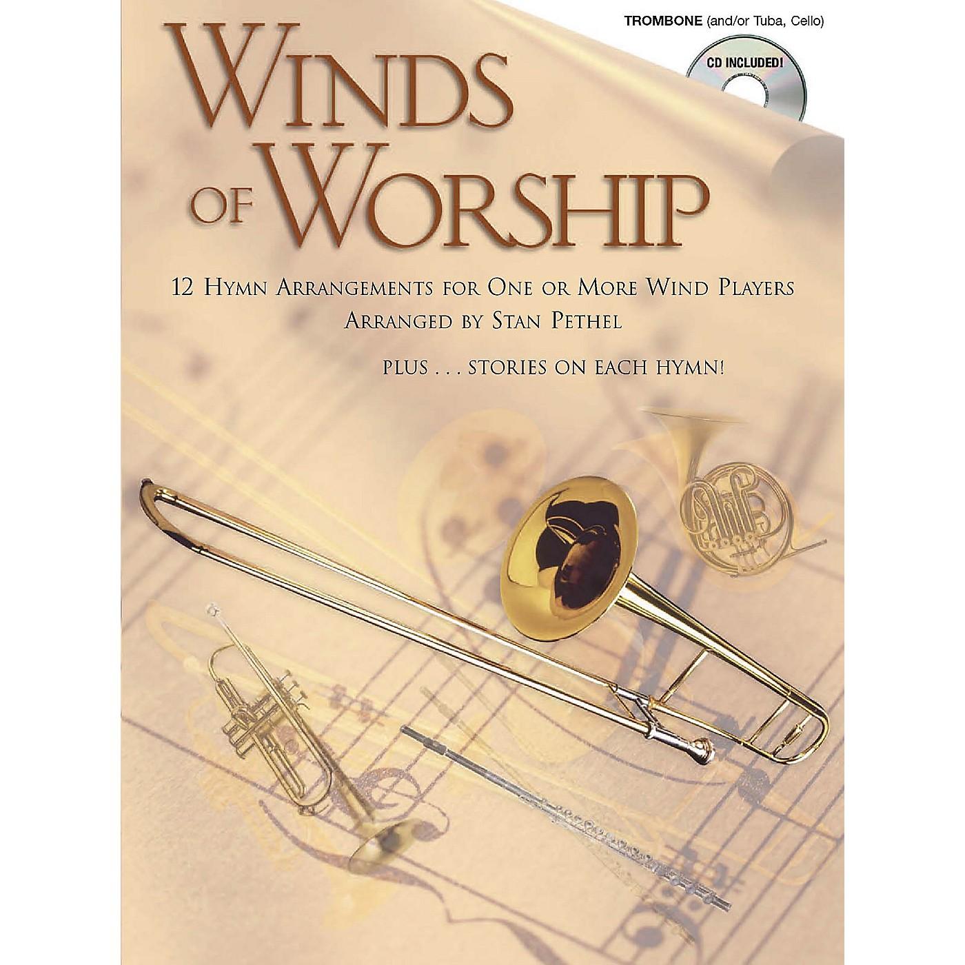 Shawnee Press Winds of Worship (Trombone) Shawnee Press Series thumbnail